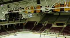 Boston College Conte Forum ice rink