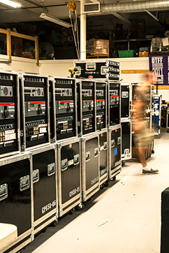 BL&S equipment road cases