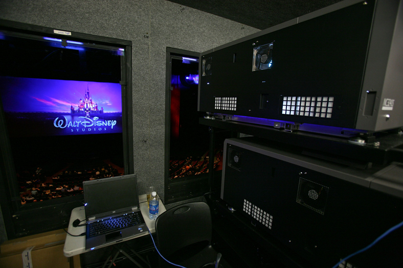 Hd Video Digital Cinema And Film Projection System