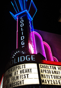 Coolidge Corner Theatre marquee