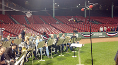 Boston Symphony Orchestra rehearses for Fenway's 100th Anniversary - 2012