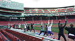 Yoga at Fenway - 2013