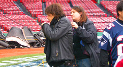 Fenway World Series - Prepping Steven Tyler