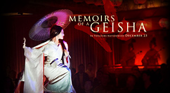 Memoirs of a Geisha title screen