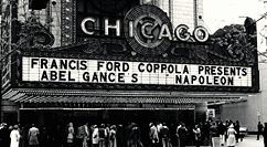Napoleon Chicago Theatre marquee