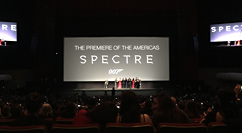 Spectre world premiere in Mexico City