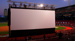 The Town premiere at Fenway - dusk