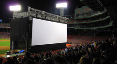The Town premiere at Fenway - audience