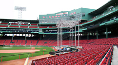 The Town premiere at Fenway - setup