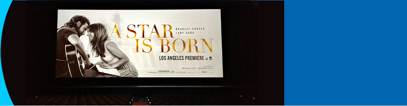 A Star Is Born world premiere :: Shrine Auditorium, Los Angeles, CA